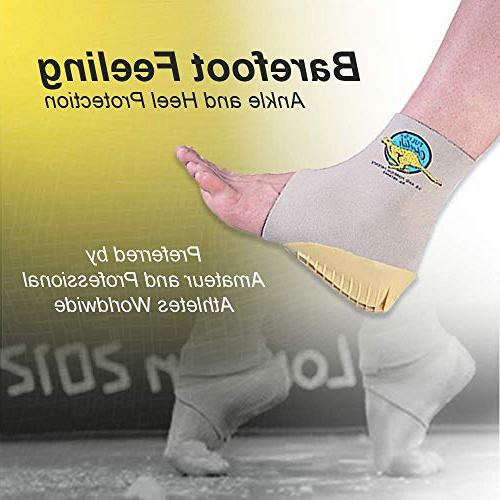 Tuli's with Compression Ankle Support Sleeve, Protection Gymnasts Dancers, Lightweight, Fitted