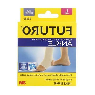 Futuro Comfort Lift Ankle Support, Mild Support, Large, Beig