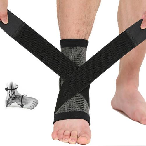 Ankle Support Compression Sleeve Plantar Relief Wrap