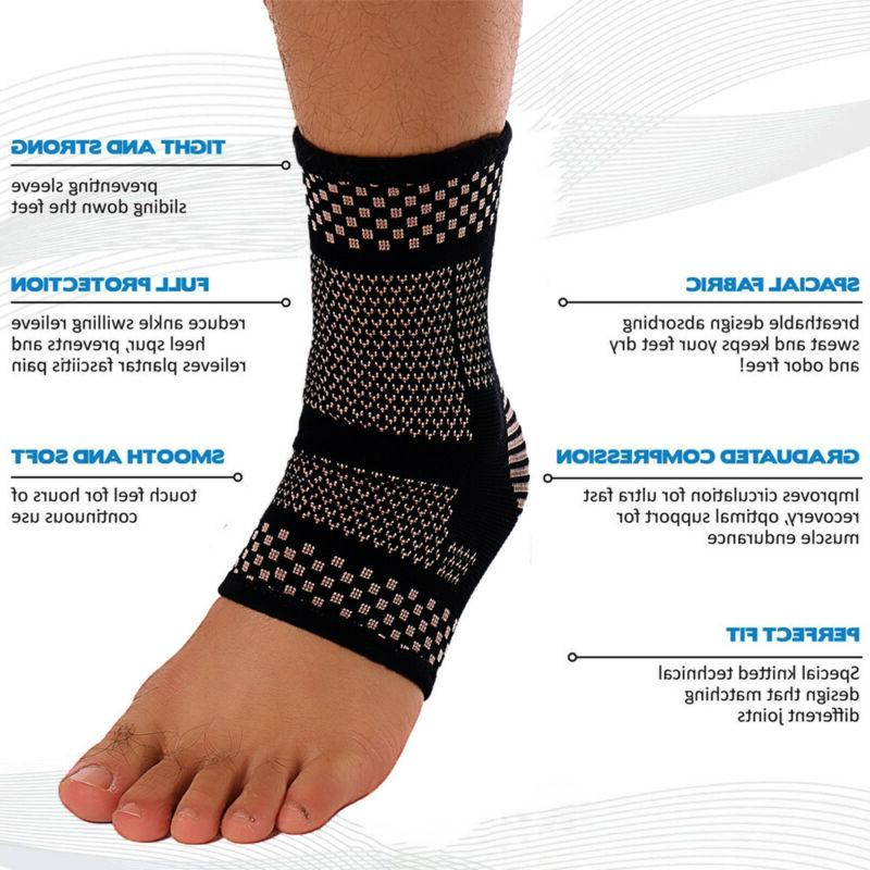 Copper Support Brace Compression Sports Pain