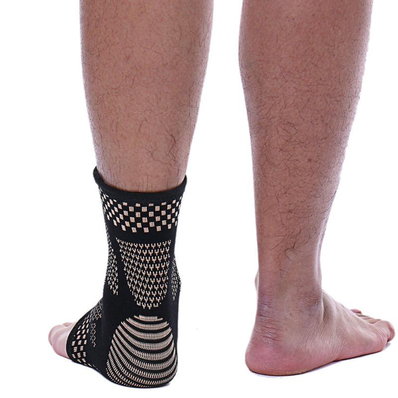 Copper Ankle Compression Sleeve Sports