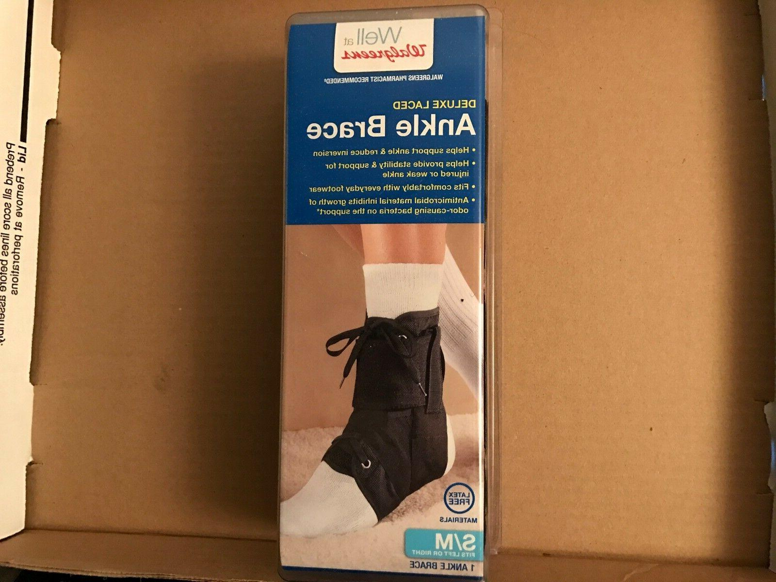 deluxe laced ankle brace
