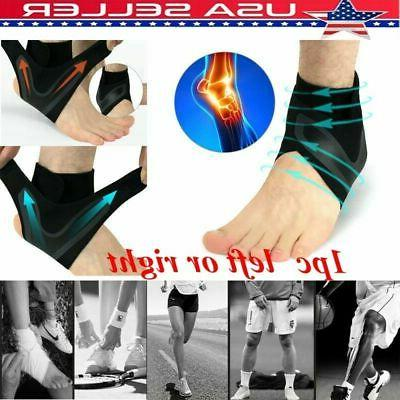 elastic adjustable ankle brace support sport basketball