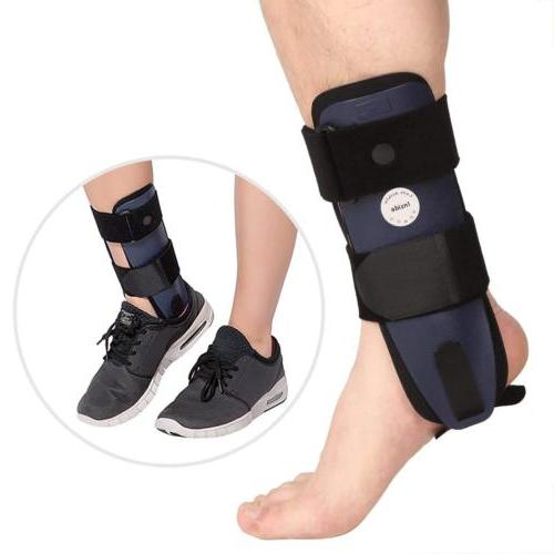 foam ankle brace hinged support guard all