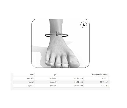 """Ossur Brace 8.5-10.25"""" Orthosis Ankle Comfort Cushioned"""