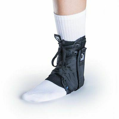 form fit ankle brace with optional figure