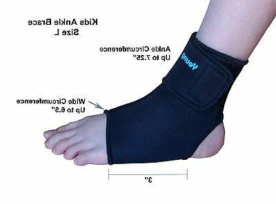 kids ankle brace sports protection healing support
