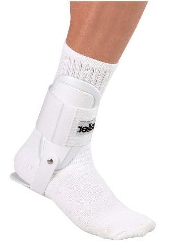 Mueller Ankle Support, White