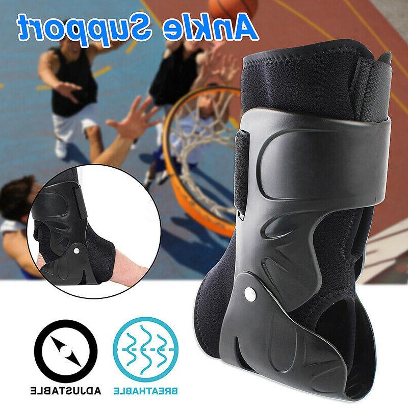 ankle brace hinged foot support guard all
