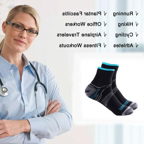 For Women Fasciitis Compression Socks Brace Support Pain