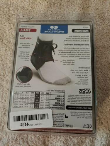 MUELLER Sport Care ANKLE BRACE WITH Small Black Support