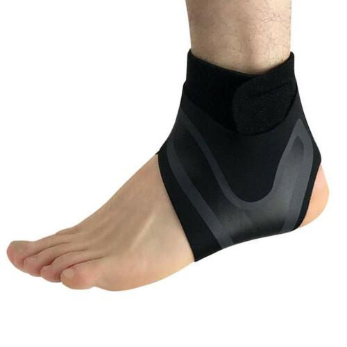 New Adjustable Sports Ankle Brace Support Protector