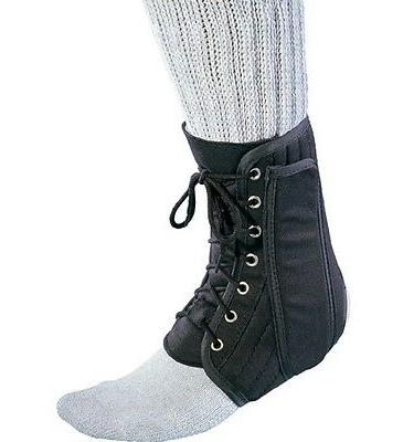 new deluxe lace up ankle brace support