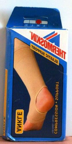 New THERMOSKIN Elastic Support ANKLE Compression SUPPORT for