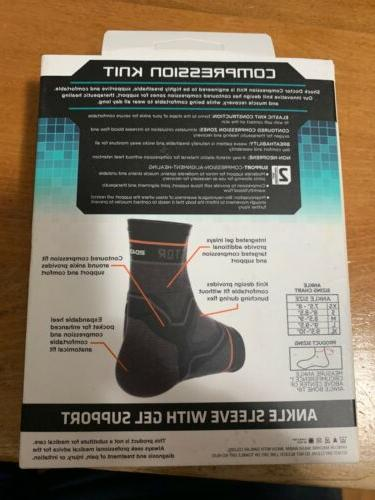 Open Box Never Shock Doctor Ankle Brace With Gel Extra Small