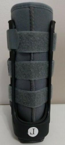 Orthopedics kids, High Boot Ankle Walker Brace Black & Gray