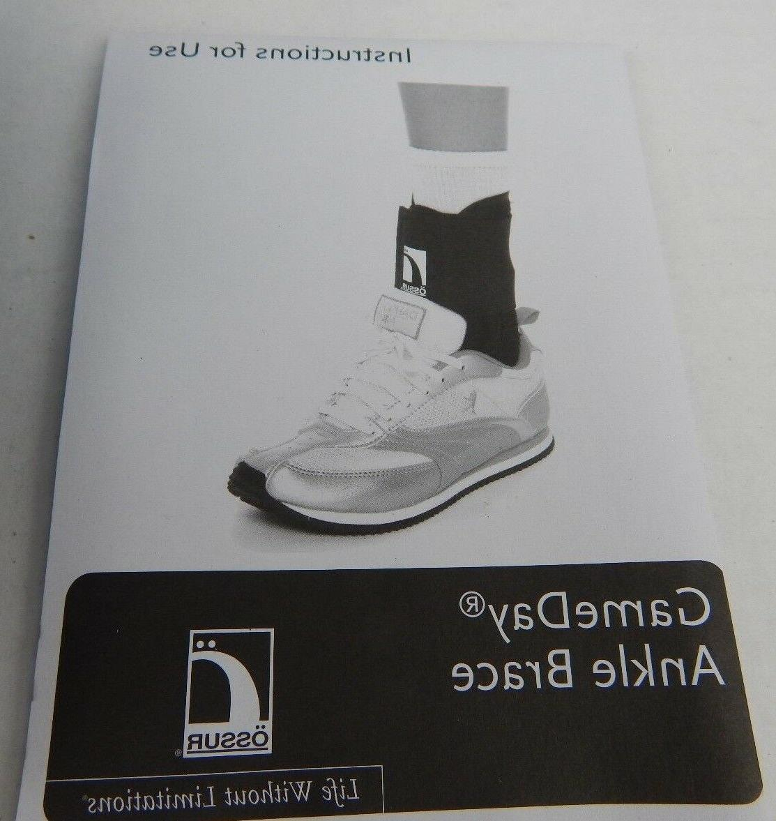 ossur form fit ankle support brace
