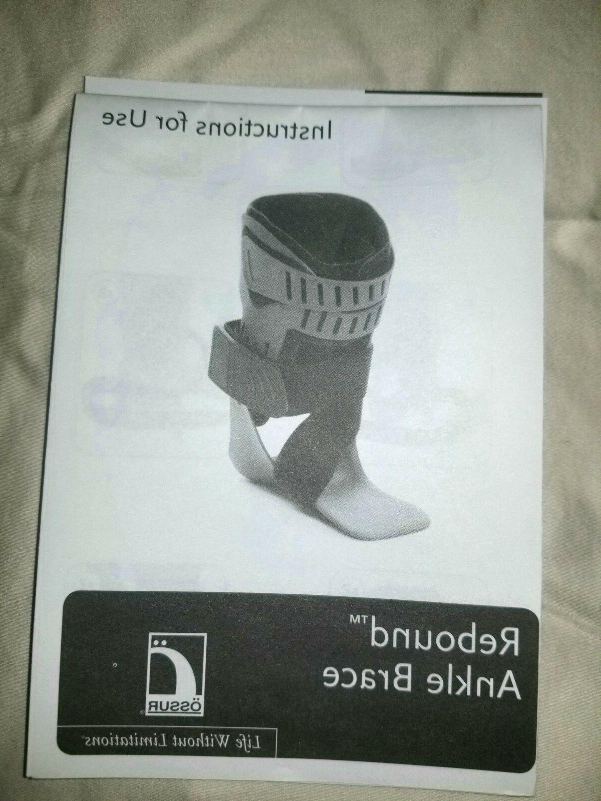 Ossur Ankle with NEW--ALL