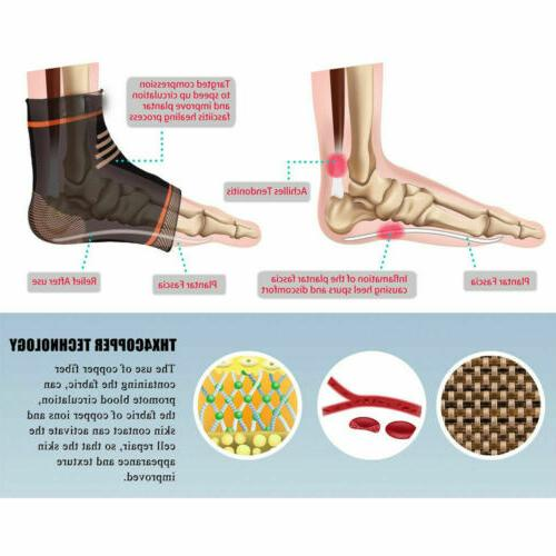 Pairs Magnetic Compression Relief Ankle Foot Sleeve Socks