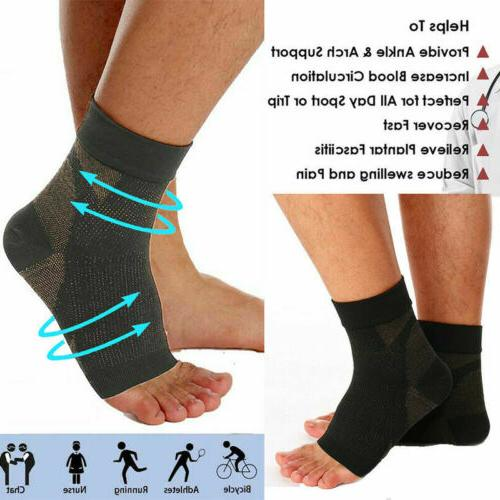 Pairs Copper Relief Brace Foot