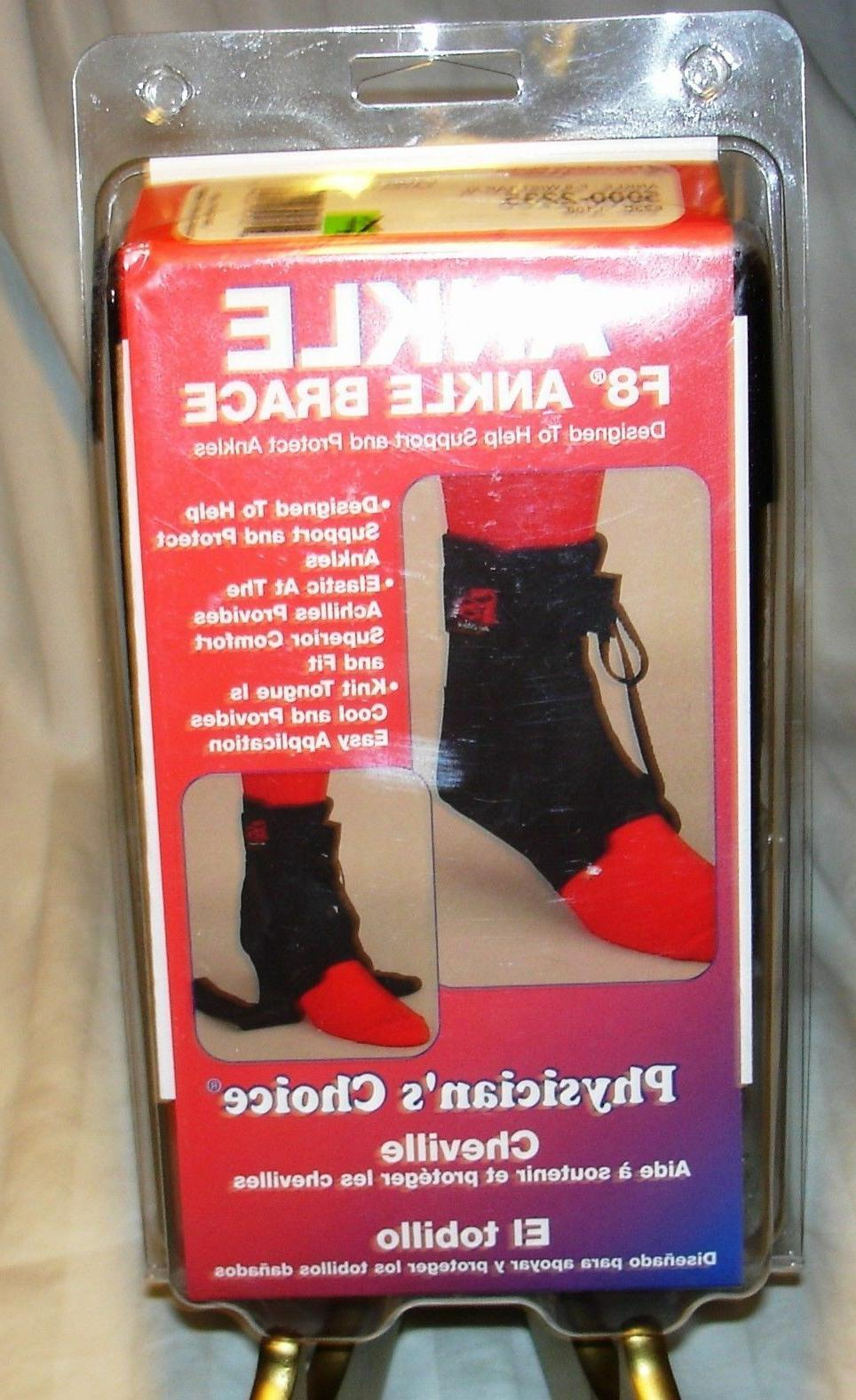 physicians choice f8 ankle brace lace up