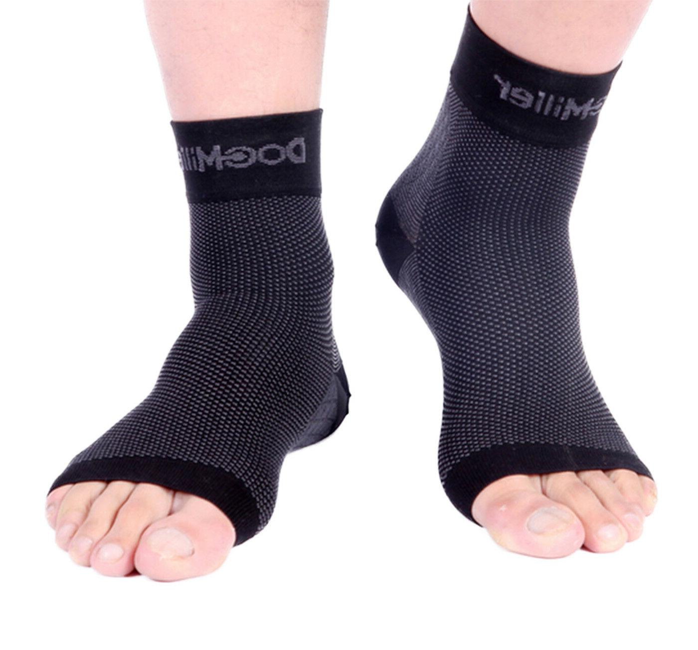 plantar fasciitis arch support compression ankle brace