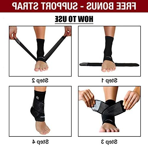 Ankle Fasciitis - Ankle Sprain, Heel for Reduce Stabilizing Breathable