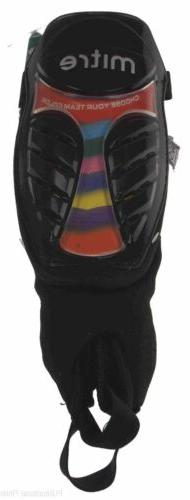 Mitre Shin Guards Chameleon Protection Soccer Adult Color In