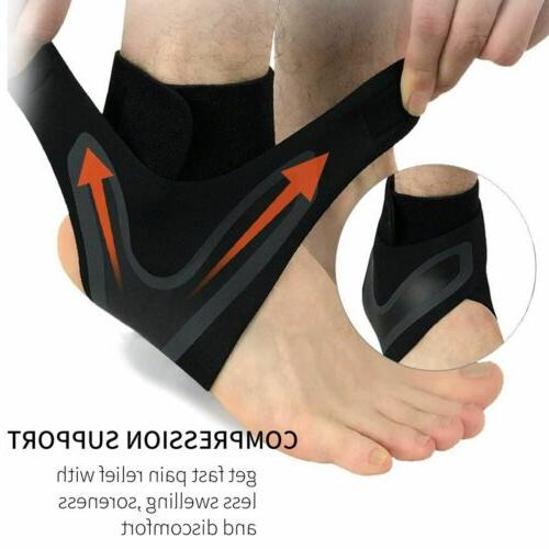 New Adjustable Sports Elastic Ankle Brace Support Basketball