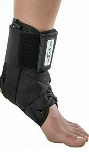 stabilizing pro ankle support brace black large