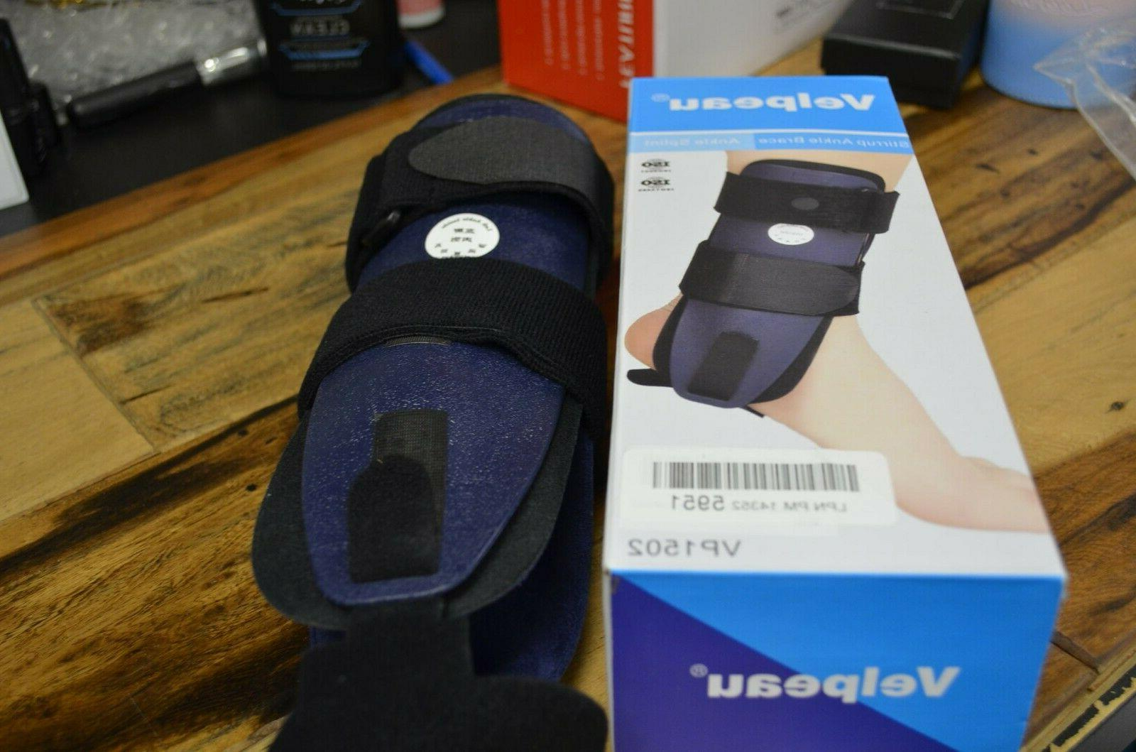 """Velpeau Stirrup Ankle Brace and Splint For Left Ankle Box New"""""""