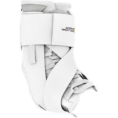 ultra wrap lace ankle support brace white