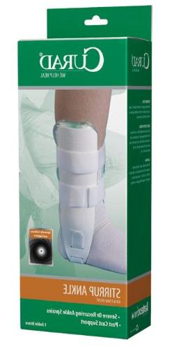 Curad Universal Air and Foam Ankle Stirrup Splint