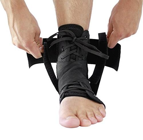 Zenith Up Adjustable Support For Running, Basketball, Injury Recovery, Ankle for Men, and Children