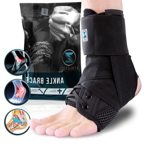 zenith ankle brace lace up adjustable support