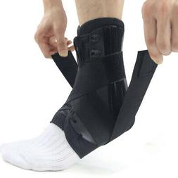 Lace Up Adjustable Sport Running Elastic Injury Ankle Brace