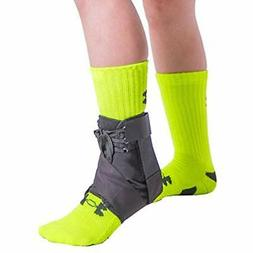 Kids Lace-Up Ankle Brace Pediatric Figure 8 Foot Support Wra