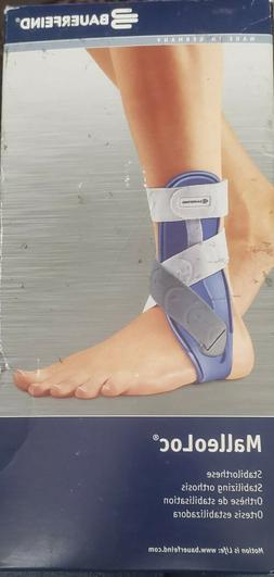 BAUERFEIND MALLEOLOC ANKLE BRACE RIGHT ANKLE SIZE 2
