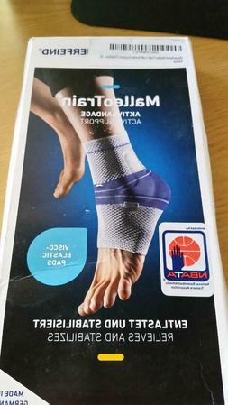 Bauerfeind MalleoTrain Ankle Support Brace Size 6 Left New I