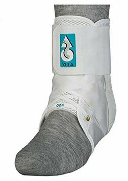 med spec aso ankle stabilizer medium white