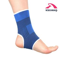 Mens Sports Compression Ankle Brace Support Stabilizer Elast