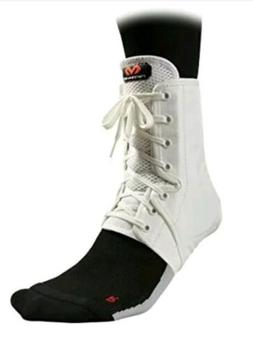 NEW McDavid 199 Level 3 Ankle Brace / Lace-up W/ Stays, Whit