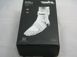 New ZAMST A2-DX Strong Support Ankle Brace White XL - Left N