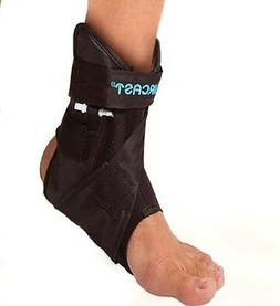 NEW DONJOY AIRCAST AIRLIFT PTTD ANKLE BRACE WITH ADJUSTABLE