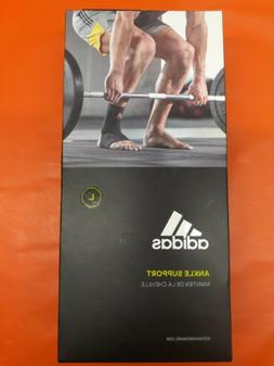 NEW Adidas Ankle Support Compression Gym Training Brace Slee