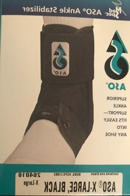 New in Box Med Spec ASO  Ankle Stabilizer Ankle Brace Lace U