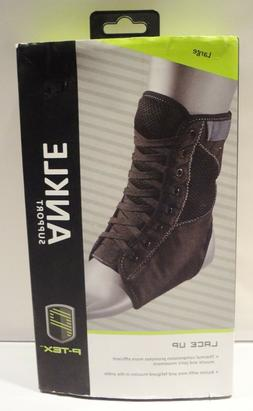 New P-TEX Lace Up Ankle Support Brace