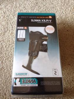 NEW Shock Doctor V-Flex Ankle Brace Size Small ~ FREE SHIPPI