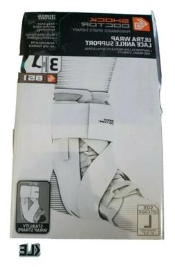 NIB Shock Doctor 851 Ultra Wrap Laced Ankle BraceSupport