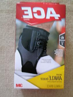NIB Deluxe Ankle Brace by Ace Moderate Support – See Descr